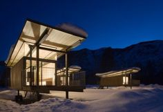 WANKEN - The Blog of Shelby White » Rolling Huts #architecture #steel #olson kundig architects #rolling hut