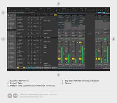 Ableton Live Redesign – Nenad Milosevic – Medium