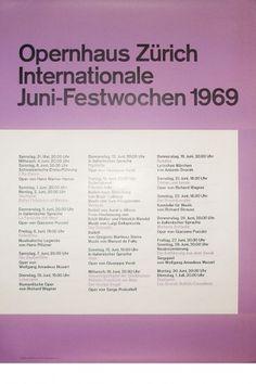Josef Müller-Brockmann JUNI-FESTWOCHEN 1969 [ 128CM X 90CM ] via www.blanka.co.uk