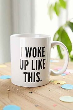 I Woke Up Like This Mug, Urban Outfitters