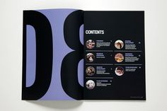 Form Annual Report - Glasfurd & Walker : Concept / Graphic Design / Art Direction : Vancouver, BC #type #layout #design #book