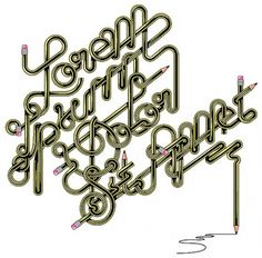 Ursi's Blog ///// #ipsum #trochut #pencil #lorem #typography