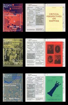 Google Reader (1000+) #museum #design #color #books #bold #simple #type #brochure
