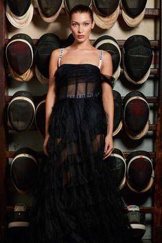 Bella Hadid Looks Divine in Dior #BellaHadid #Dior #VogueParis