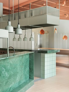 Interiors of the Grow Hotel in Stockholm, by Note Design Studio