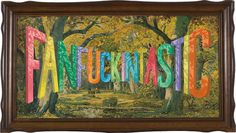 Wayne White : Word Paintings #type #surrealist #painting #beautiful #3d