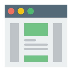 See more icon inspiration related to html, browser, website, web page, multimedia and interface on Flaticon.