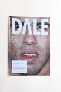 -Dale- magazine on the Behance Network #branding #design #minimalism #brand #identity #logo #editorial #typography