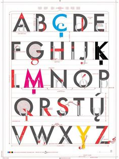 A Worthy Guide for Creating Exquisite Mobile Web Design #alphabets #letters #typography