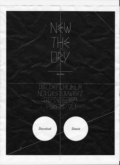 Apolo Blog - Nuestras Locuras #fonts #font #free #apoloapolo #poster #typography