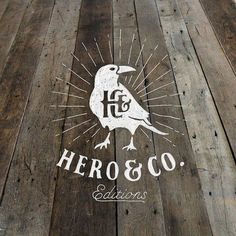 Hero & Co / by BMD Design #hero #logo #design #inspiration