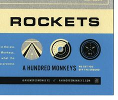 FFFFOUND! | Neighborhood Studio - A HUNDRED MONKEYS #design #graphic
