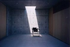 zen_house_faa060808_7.jpg (900×600) #interior #furumoto #concrete #house #chair #ryuichi #architecture #zen #light