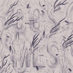 Album Art on the Behance Network #illustration #typography