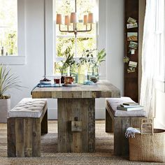 Emmerson Dining Table | west elm #table #desk #workspace