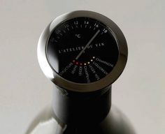 Wine Thermometer by L' Atelier du Vin #tech #flow #gadget #gift #ideas #cool