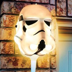 Star Wars Stormtrooper Porch Light Cover #tech #flow #gadget #gift #ideas #cool
