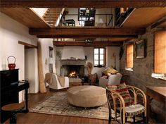 petrella guidi historic 05 #interior #living #country #italy
