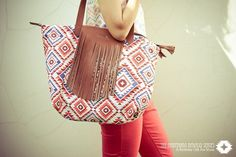 The Babybirds » Navajo Series – A Birthday Gift For Mum #design #illustration #pattern #bag #native #navajo