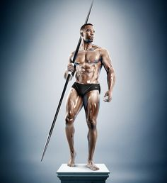Sculpture Athletes by Tim Tadder #inspiration #photography #port