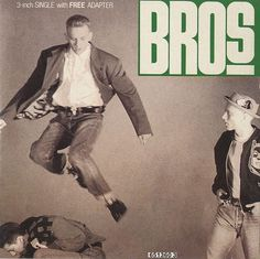 Bros Drop The Boy Netherlands 3 #cover #album #lettering #record