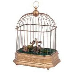 Vintage musical birdcage