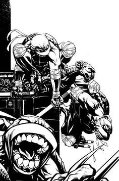 TMNT cover by Spacefriend KRUNK on deviantART