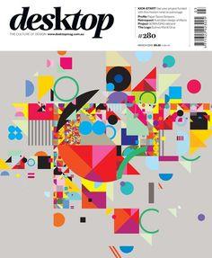 desktop magazine March 2012 cover by StudioBrave #cover #desktop #magazine