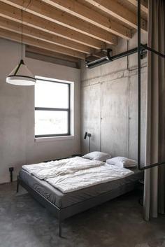 bedroom, Juraj Hubinský + Kuklica x Smerek Architekti