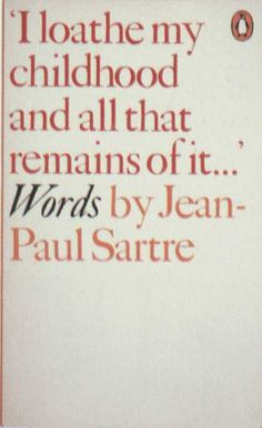 Penguin Books - Words by Jean-Paul Sartre #covers
