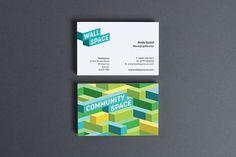 Wallspace | Identity Designed #logo #isometric #identity