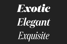 TYPECACHE'S Favorite Fonts of 2013 | TYPECACHE.COM #font #serif #typeface #domain #typography