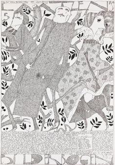 Laatzen Bilderbogen 1. Folge 5. Bogen 1967 Horst Janssen