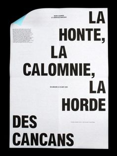 AisleOne - Graphic Design, Typography and Grid Systems #typography #poster #grid #layout