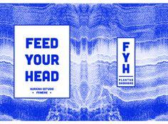 Feed Your Head Fanzine on Behance #graphic