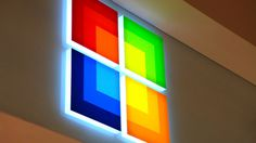 Microsoft – Collins #sign #signage