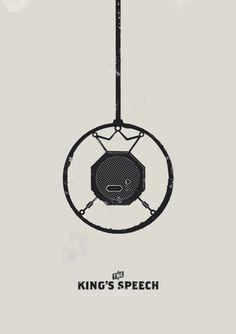 FFFFOUND! | kingsposter2.png (PNG-afbeelding, 595x842 pixels) - Geschaald (99%) #poster #movie #speech #kings
