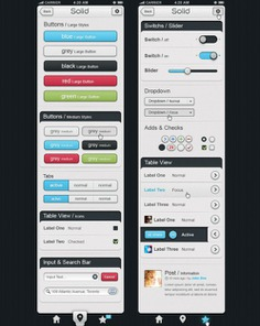 Colorful mobile buttons and input boxes Free Psd. See more inspiration related to Mobile, Colorful, Elements, Buttons, Psd, Boxes, Material, Interface, Vertical, Input, Psd material and Interface elements on Freepik.