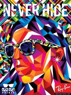 I love monday #illustration #glasses #frames #ray #ban