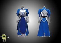 Fate/Zero King Arthur Saber Armor Cosplay Costume + Wig #armor #costum #saber #costume #zero #cosplay #fate