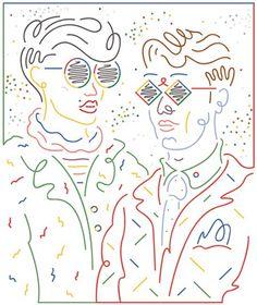jordy_van_den_nieuwendijk_2013_08_suddeutsche_zeitung_magazin_1 (1) #illustration #line #art