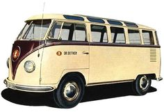 a time to get: Vanity #bus #old #volkswagen #van #design #vintage #car