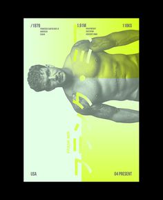 MMA Posters on Behance #print #poster #typography