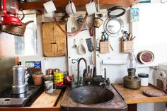 #kitchen #boat #interior