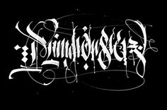Calligraphy collection: part 2 on Behance