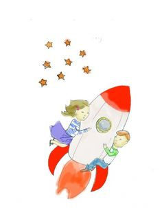 sardahg #book #personal #childrens #rocketship #work