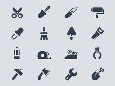 Tools #icon #symbol #pictogram