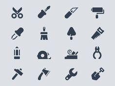 Tools #icon #symbol #pictogram