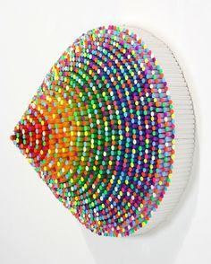 Trinity | Jen Stark | Show & Tell Gallery | Toronto Contemporary Art Gallery #stark #art #jen
