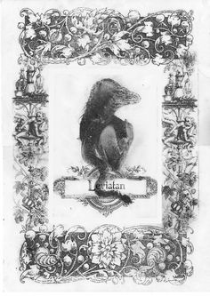 Bestiario Ilustrado - Leviatán - numanhoid #leviatan